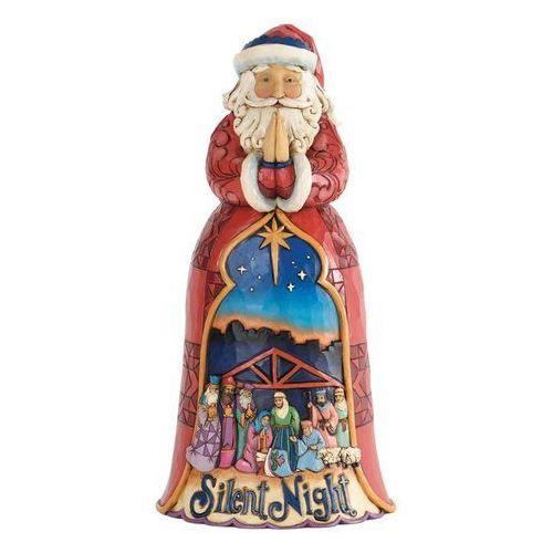 Mikołaj Szopka Cicha Noc, (Silent Night), 4034356 Jim Shore figurka ozdoba świąteczna