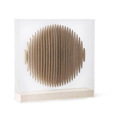 wooden circle art frame awd8935 marki Hkliving
