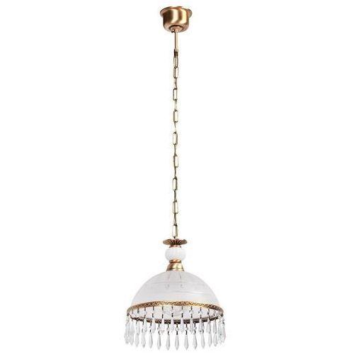 Mw-light Elegancka wisząca lampa z kloszem zdobionym kryształami (295015201)