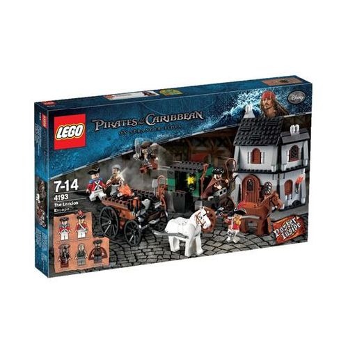 Lego PIRATES Ucieczka z londynu - of the caribbean (piraci z karaibów) 4193