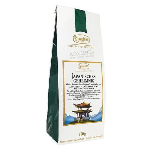 Zielona herbata Ronnefeldt Japanisches Geheimnis/Japan Secret 100g - produkt z kategorii- Zielona herbata