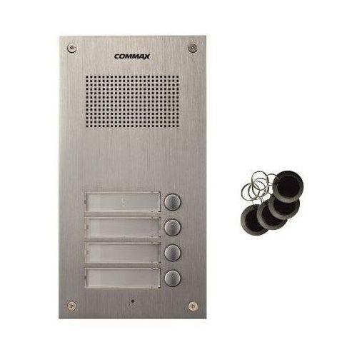 Commax Dr-4um/rfid stacja bramowa z 4 przyciskami, z czytnikiem kart rfid