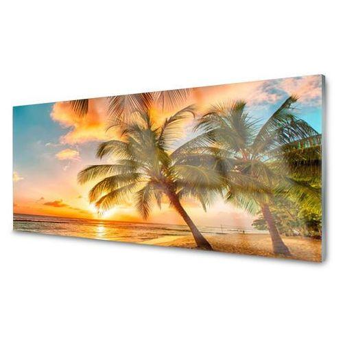 Tulup.pl Panel kuchenny palma drzewo morze krajobraz