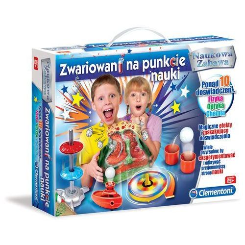 Clementoni Zwariowani na punkcie nauki (8005125607716)