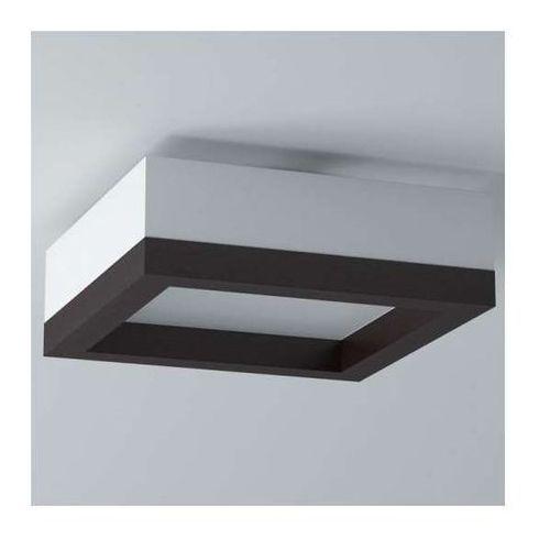 Plafon LAMPA sufitowa AMUR 1306P51E/204/kolor Cleoni natynkowa OPRAWA kwadratowa drewno, 1306P51E/204/kolor
