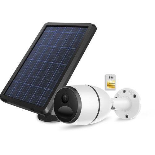 Kamera zewnętrzna IP bezprzewodowa z własnym zasilaniem akumulatorem oraz panelem solarnym LTE 4G 3G PIRI SIM GSM, HSIC18002