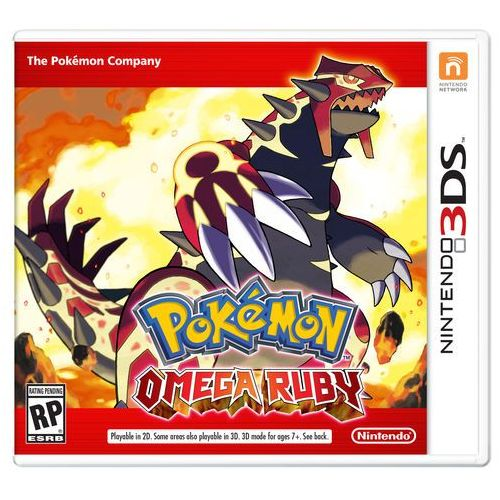 Nintendo gra pokemon omega ruby na konsolę nintendo 3ds