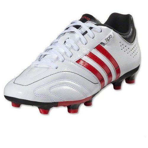 Buty piłkarskie 11 nova trx fg biało-czerwone marki Adidas