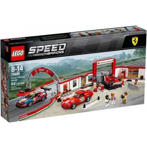Lego SPEED CHAMPIONS Rewelacyjny warsztat ferrari ferrari ultimate garage 75889
