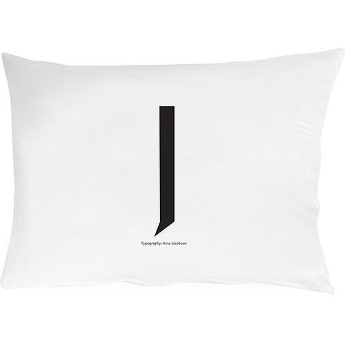 Poszewka na poduszkę arne jacobsens vintage abc litera j marki Design letters
