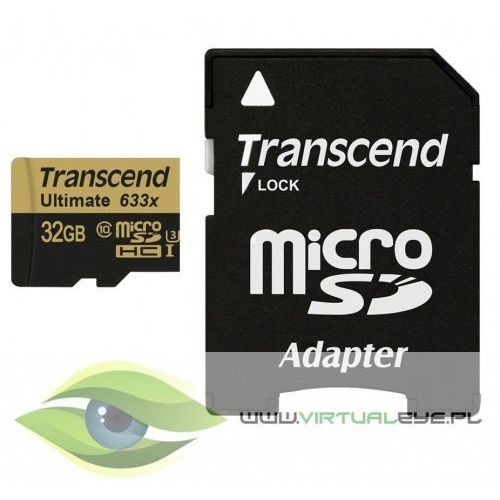 MicroSD 32GB CL10 UHS-3 95/85 MB/s + Adapter