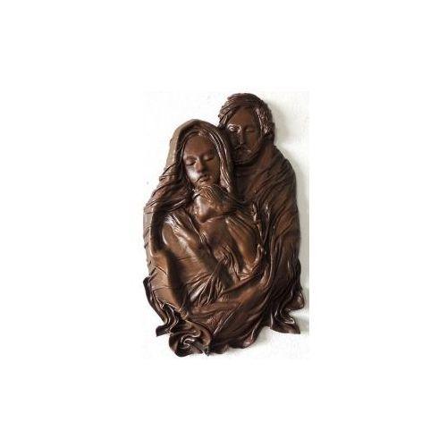 Święta Rodzina, płaskorzeźba w skórze SRS-2 ()