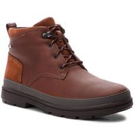 Kozaki - rushwaymid gtx gore-tex 261355547 british tan leather marki Clarks