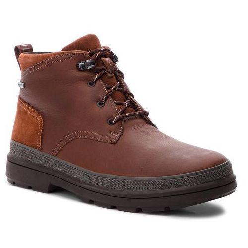 Kozaki - rushwaymid gtx gore-tex 261355547 british tan leather, Clarks, 40-46