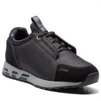 Sneakersy EMPORIO ARMANI - X4X241 XL457 A792 Black/Black/Black/Bl, kolor czarny