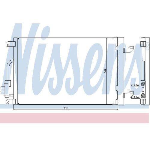 Skraplacz, klimatyzacja NISSENS 940015