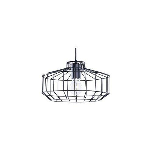 Beliani Lampa czarna - sufitowa - żyrandol - lampa wisząca - wabash