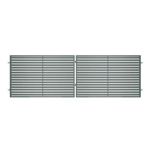 Brama dwuskrzydłowa Polbram Steel Group Brava 400 x 150 cm