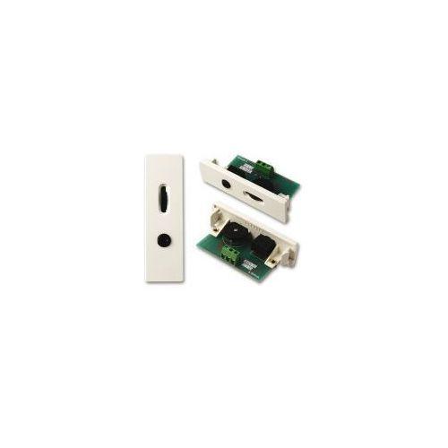 Techconnect v2 moduł mini jack 3.5mm z reg. głośności marki Vision