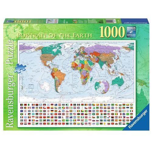 Puzzle 1000 elementów - Portret Ziemi RAP192885 - RAVENSBURGER, 5_549120