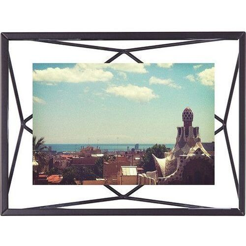 Ramka na zdjęcia prisma 10 x 15 cm czarna marki Umbra