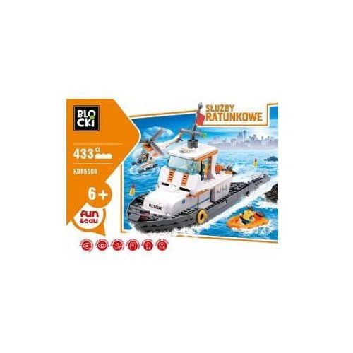 Klocki blocki służby ratunkowe łódź patrolowa 433 elementy marki Icom