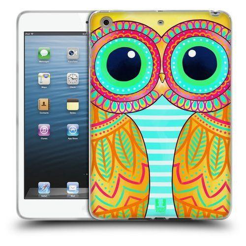 Etui silikonowe na tablet - Owls Illustrated YELLOW