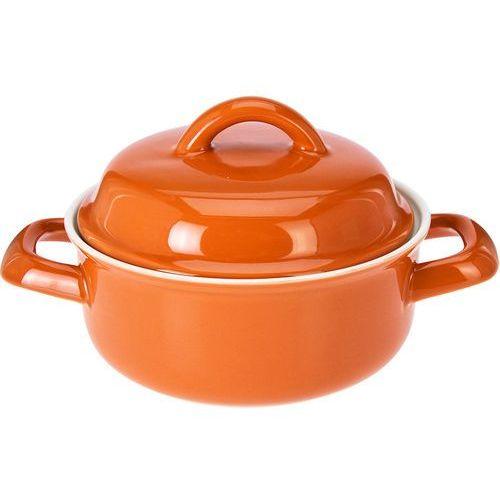 Eh excellent houseware Ceramiczny garnek z pokrywką, naczynie żaroodporne, 200 ml (5902891244899)