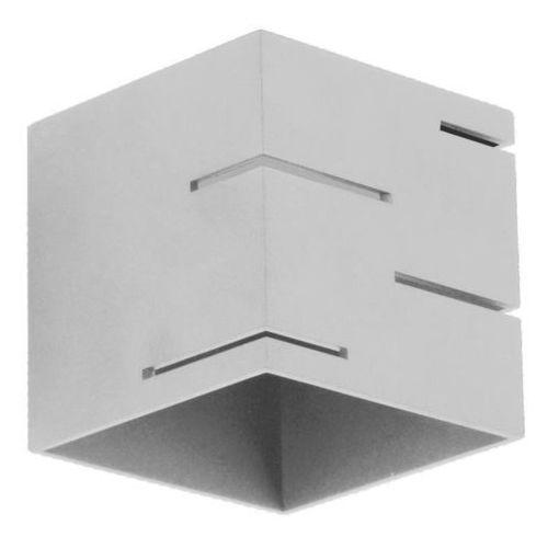 Lampex quado modern a 692/a pop kinkiet lampa ścienna 1x40w g9 popiel