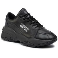 Sneakersy jeans couture - e0yubsi3 71183 899, Versace, 41-45
