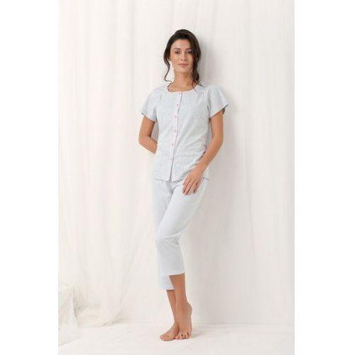 Piżama damska model frances 554 grey, Luna