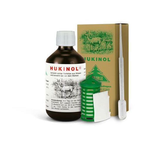 Kieferle Hukinol 500ml +gratis. środek na dzikie zwierzęta, dziki, jelenie, sarny.