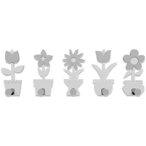 Wieszak ścienny little flowers biały (13-003-1) marki Calleadesign