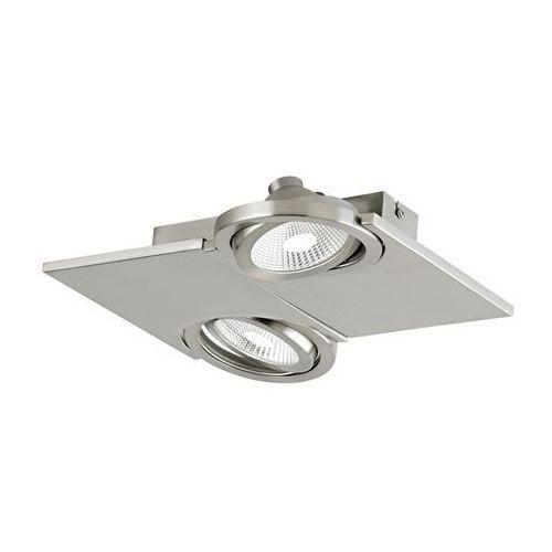 Plafon Eglo Brea 39248 oprawa lampa sufitowa spot 2x5W LED satyna
