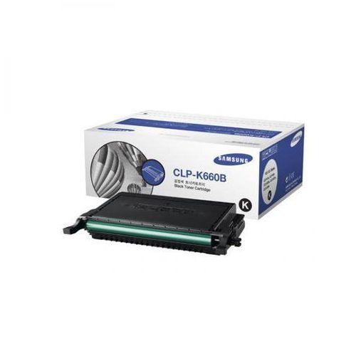 Samsung  oryginalny toner clp-k660b, black, 5500s, samsung clp-610, 660d, 660nd (8808987352974)