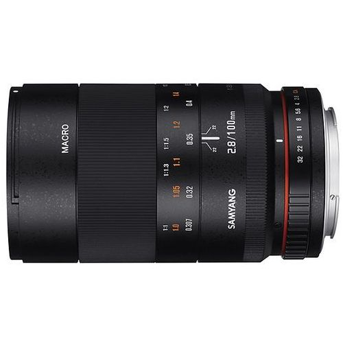 Samyang 100mm f/2,8 ED UMC MAKRO (Nikon) - przyjmujemy używany sprzęt w rozliczeniu | RATY 20 x 0%