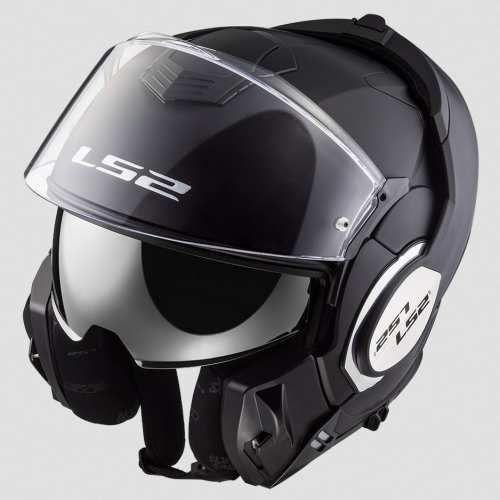 Ls2 Kask ff399 valiant matt black
