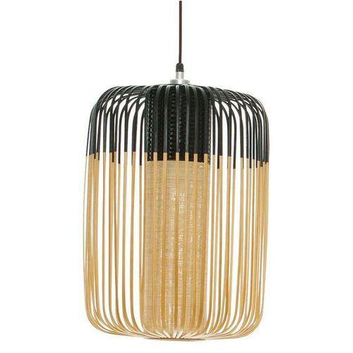 Forestier Bamboo - lampa wisząca bambus/czarny wys.50cm