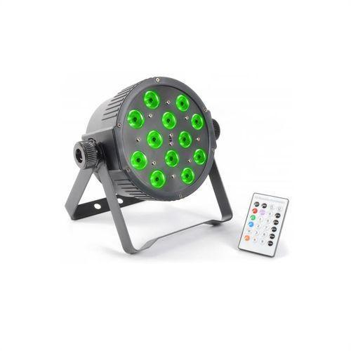 beamZ FlatPAR 12x 3W Tri-color LED DMX IR z pilotem