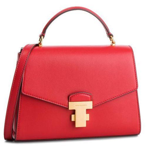Torebka - juliette small top-handle satchel 51021 ruby red 612 marki Tory burch