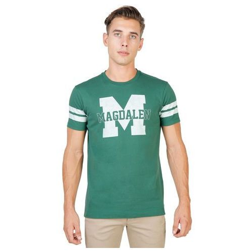 T-shirt koszulka męska OXFORD UNIVERSITY - MAGDALEN-STRIPED-MM-71, MAGDALEN-STRIPED-MM-GREEN-XL