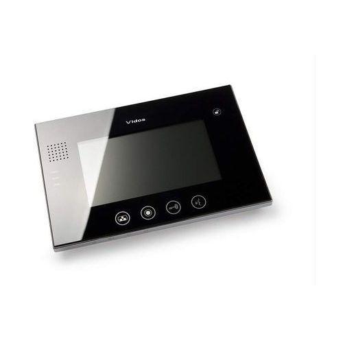 """Vidos monitor 7"""" m670 biały lub czarny: kolor monitora - czarny m670b - autoryzowany partner vidos, automatyczne rabaty."""