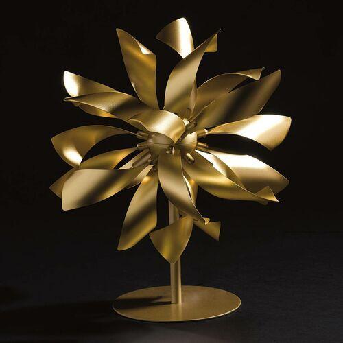 Eco-light Lampa stołowa bloom kolory złota (8031440365505)