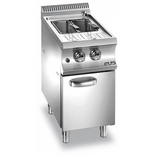 Urządzenie do gotowania makaronu i pierogów gazowe z szafką  linia domina 700   26l   8500w   400x730x(h)850 mm marki Mbm