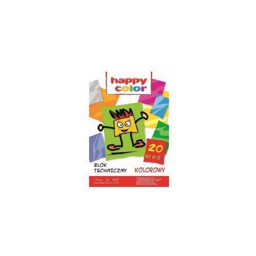 Blok techniczny kolor A3 HAPPY COLOR 170g 20k, 5905130107009_20160711173545