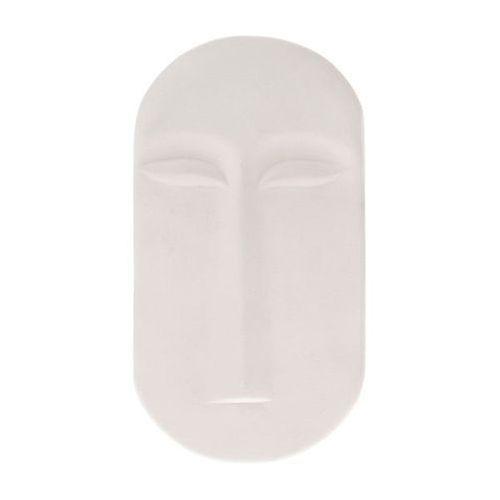 HK Living Ozdoba ścienna maska biały mat rozmiar L AWD8886, AWD8886