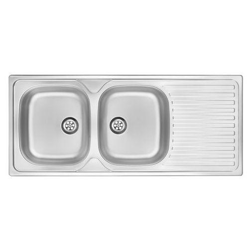 Zlewozmywak DEANTE Twist ZEU 3210 Stal dekor + DARMOWY TRANSPORT!, kolor srebrny