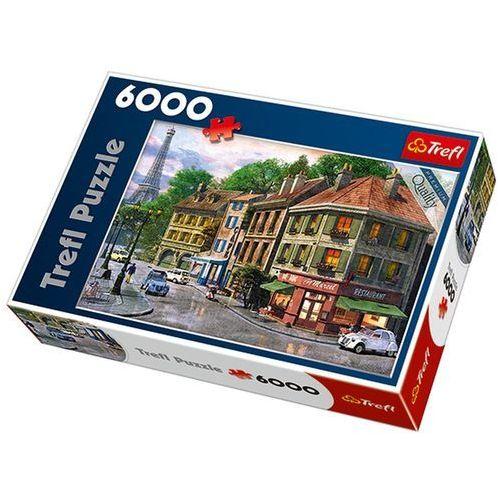 Puzzle 6000 Uliczka Paryża TREFL