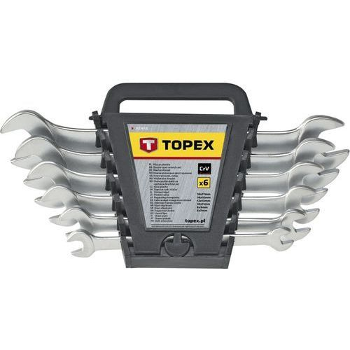 Zestaw kluczy płaskich TOPEX 35D656 6 - 22 mm (8 elementów), 35D656