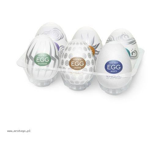 Tenga Egg Orginal Variety Six Pack Colors 2 Zestaw masturbatorów jednorazowych w kształcie jajka 6 sztuk (4560220552827)
